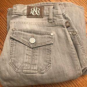 Light gray wash Jeans flare leg
